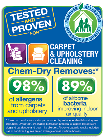 Statistics about carpet and upholstery cleaning