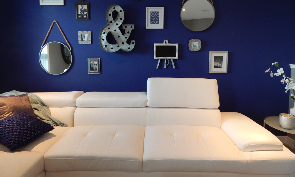 Clean White Couch